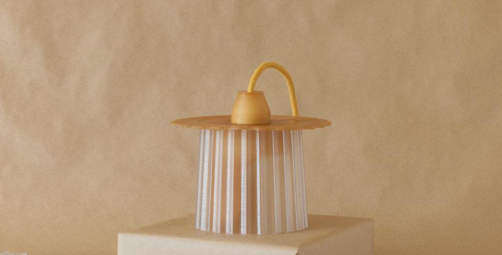 Warren & Laetitia | Amanda lamp wheat