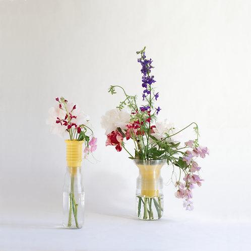 Warren & Laetitia | Half-Vase mimo – Models 1 + 2 yellow
