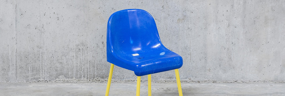 Tobia Zambotti |The Fan Chair / Blue Yellow