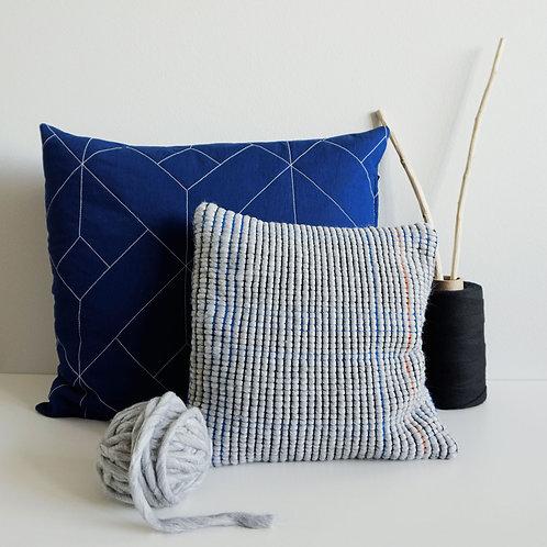 Wasteless Wonders | Grids Pillow