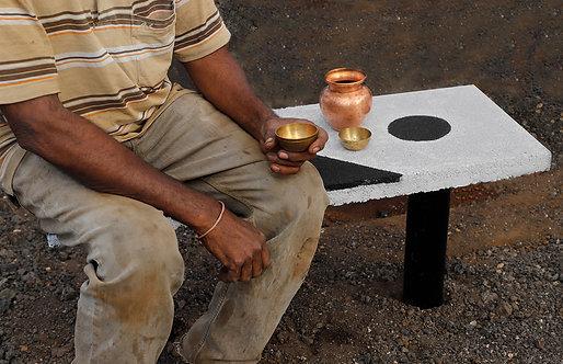 Rashmi Bidasaria | Rest Away Bench