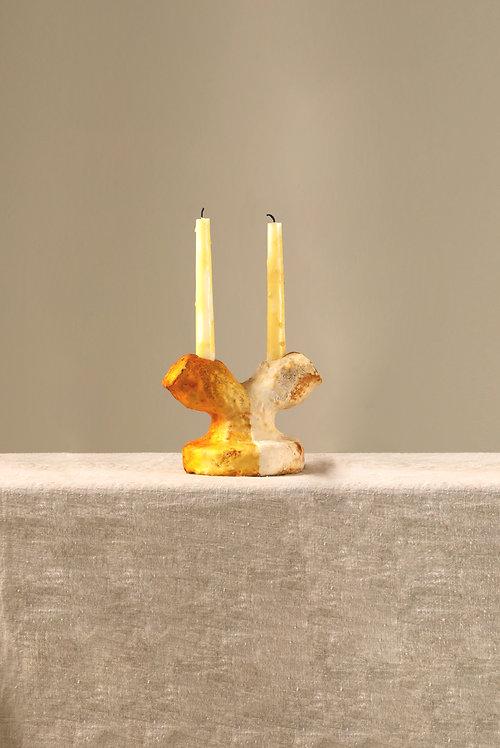 Mycelium Millennium |  MM Half-half Candleholder