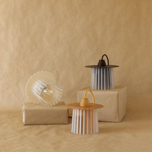 Warren & Laetitia | Amanda lamp mussel