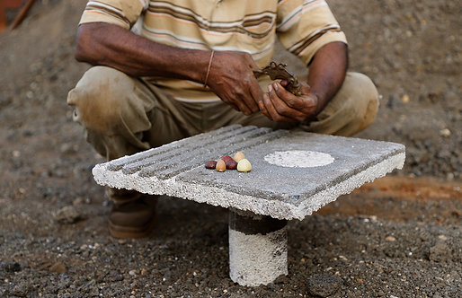 Rashmi Bidasaria | Monolith Floor Table