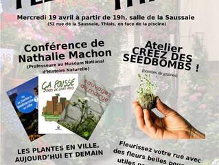 Soirée du 19 Avril : Fleurissons Thiais !