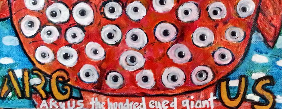 Argus the 100 eyed giant