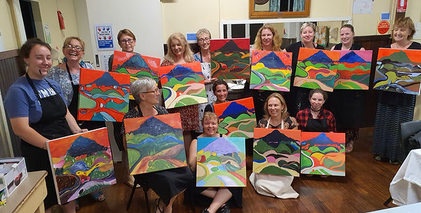 CooroyMountain Sip and Paint