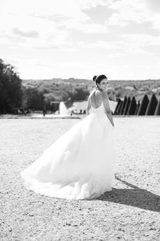 Photographie de la robe de mariée