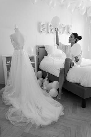 Préparation de la future mariée
