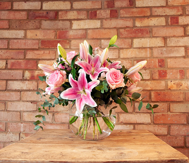 Rose & Lily Classic Bouquet