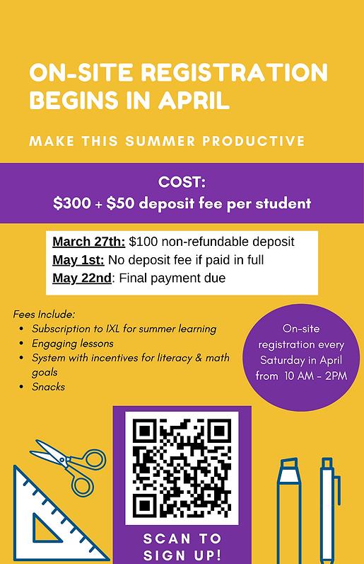 BFFK Summer Bridge Program Poster back-1
