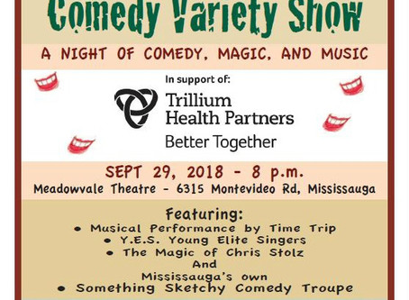Theatre Unlimited Presents The Something Sketchy Comedy Variety Show