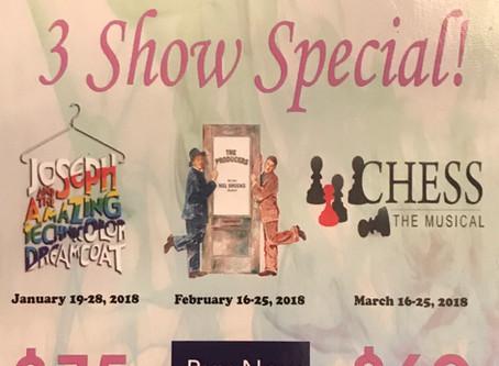 2017/18 Music Theatre Mississauga Encore Series 3 Show Special