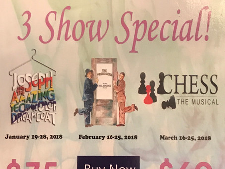 2017/18 Music Theatre Mississauga Encore Series 3 Show Special