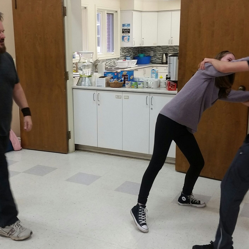Stage fight choreography