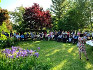 Zahvala za 4. dobrodelno druženje na vrtu Nekrep