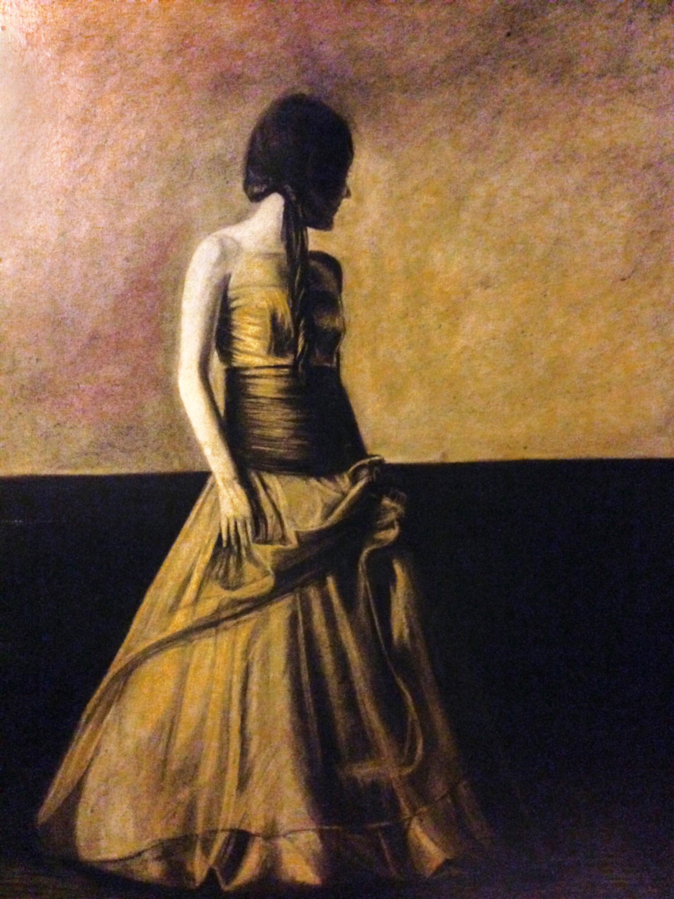 """""""Vestido dorado"""""""