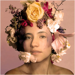 """""""Head and flowers"""""""