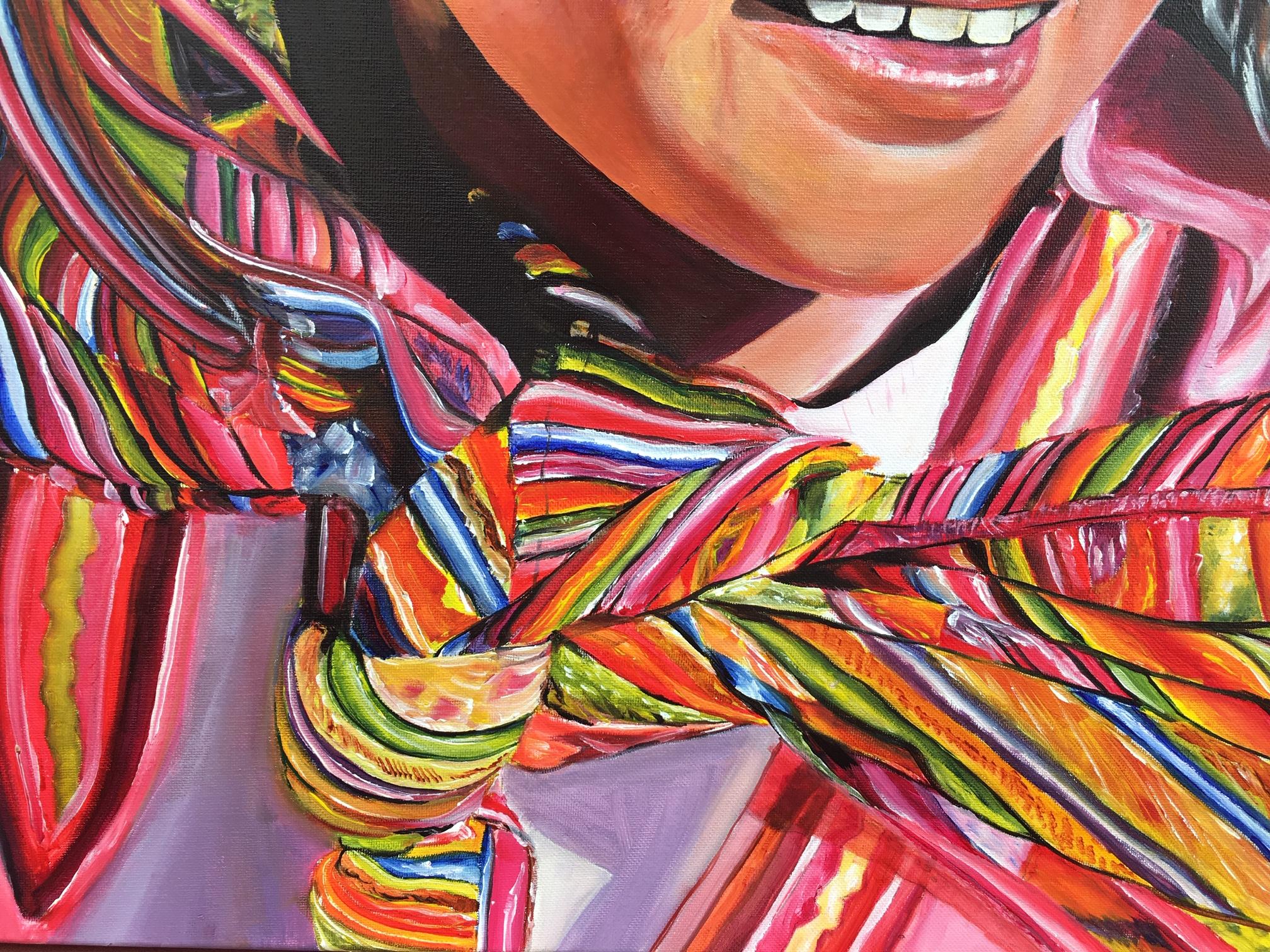 """""""Sonrisas de colores"""" (Detalle)"""