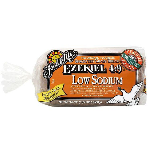 Ezekiel Flourless Bread Low Sodium