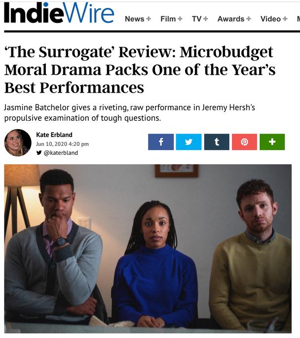 Moveable Fest Interview - The Surrogate