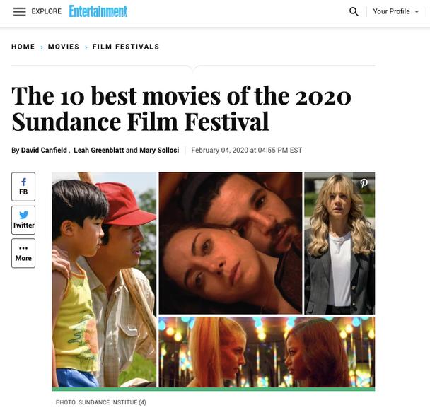 Best Movies of Sundance 2020 - Entertainment Weekly