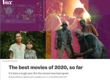 Vox - How to watch the best films of 2020