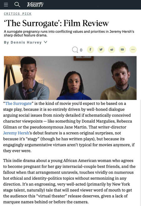 Variety Film Review