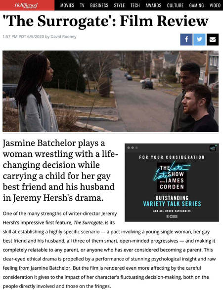 Hollywood Reporter's Review