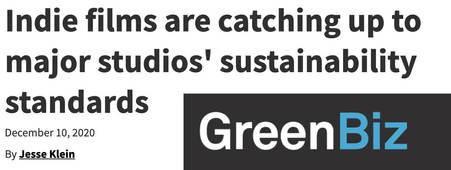 GreenBiz feature on Sustainability