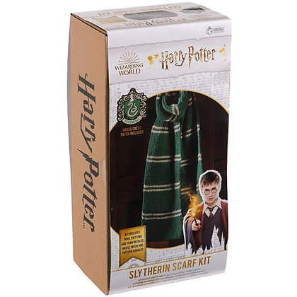 Harry Potter Knitting Kit - Slytherin Scarf