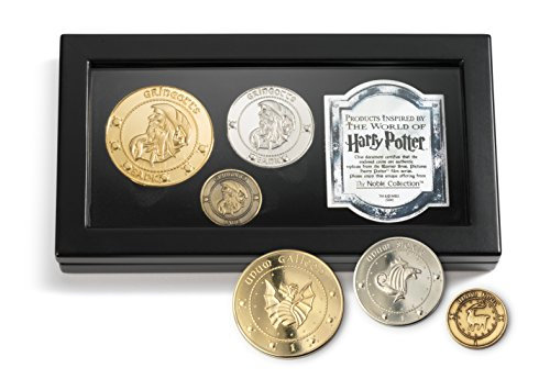 The Gringotts Bank Coin Collection- The noble collection