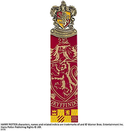 The Noble Collection Harry Potter Gryffindor Crest Bookmark