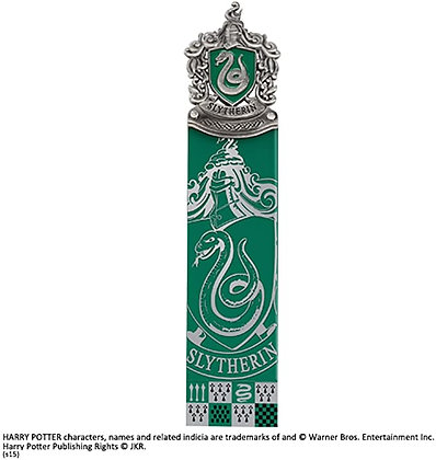 The Noble Collection Harry Potter Slytherin Crest Bookmark