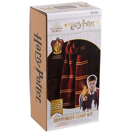Harry Potter Knitting Kit - Gryffindor Scarf