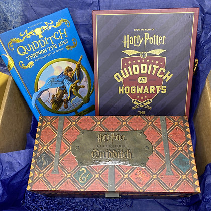 The Quidditch themed Book Box
