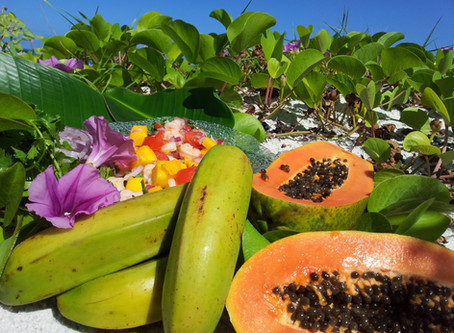 Julie's Shrimp & Mango Salad and Tostones Cups (Green Plaintain)