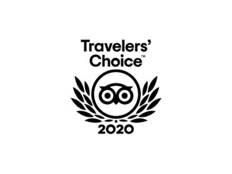 Tripadvisor: 2020 Travelers' Choice Winner
