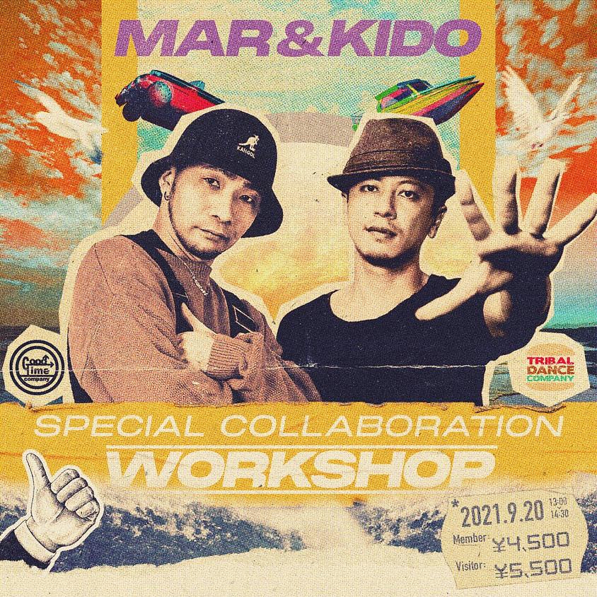 【9/20(月・祝)】STUDIO INHERIT  MAR&KIDO  Special Collaboration WORKSHOP