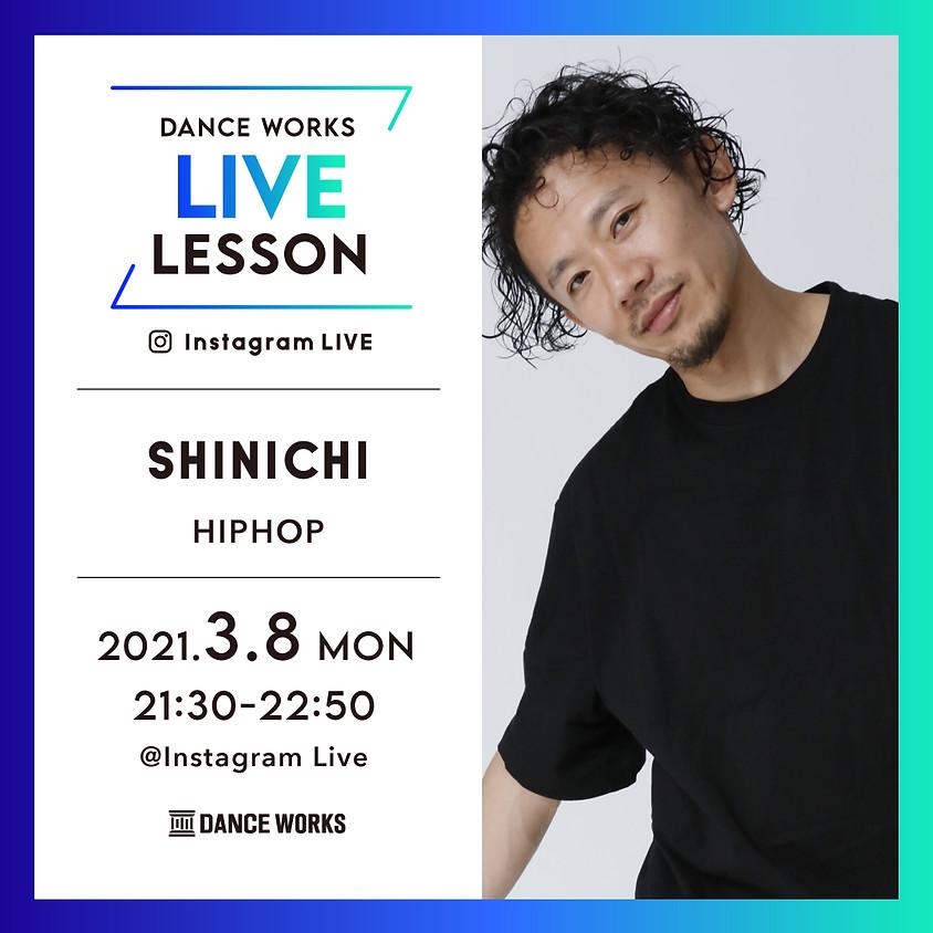 【3/8(月)21:30-22:50】SHINICHIライブレッスン