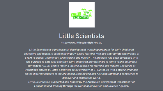 Little Scientists Winter Camp Workshops, A well of knowledge and hand-on experience to share with ou