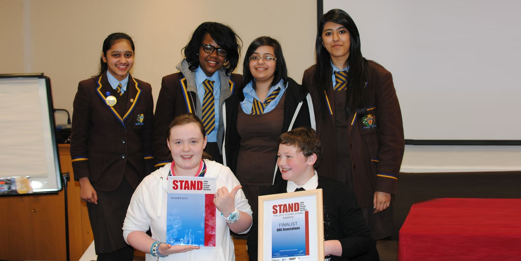STAND award winners