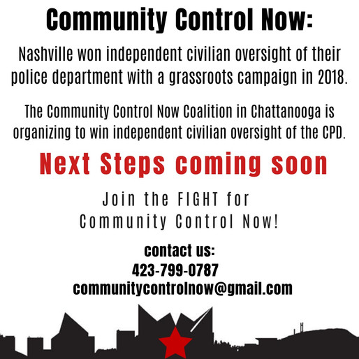 Nashville Voters Mandate Community Oversight of Police - Communities throughout TN prepare to expand