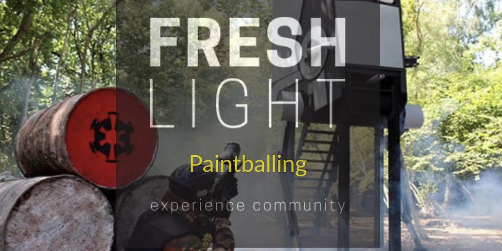 Fresh Light Paint Balling.
