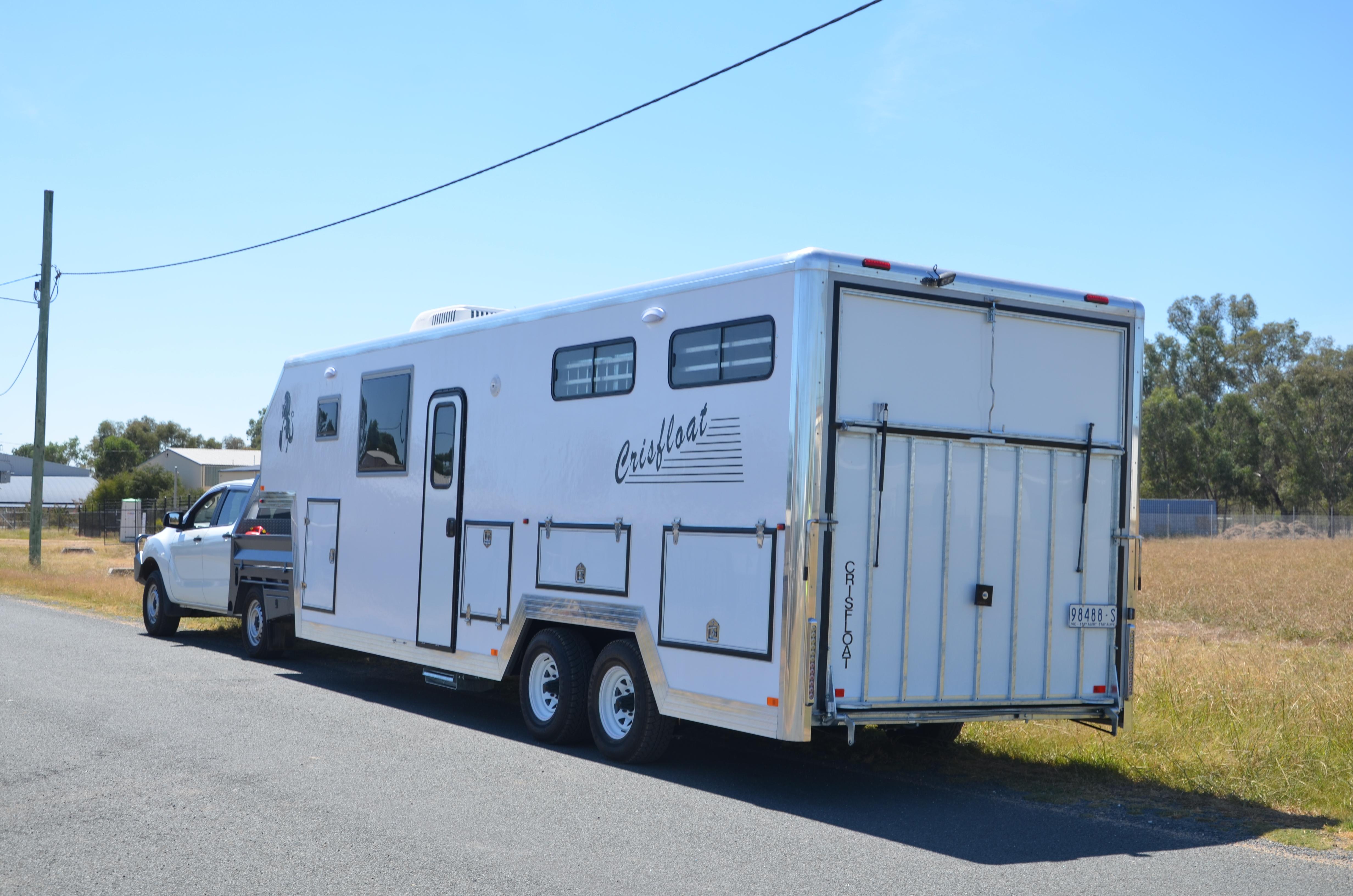 Gooseneck Horse trailers Australia