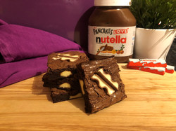 nutella and kinder