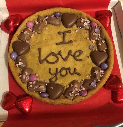 Giant message cookies