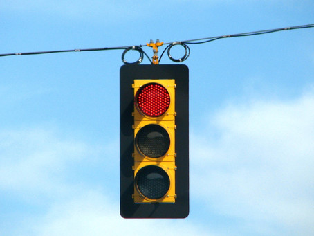 Red light means... GO!