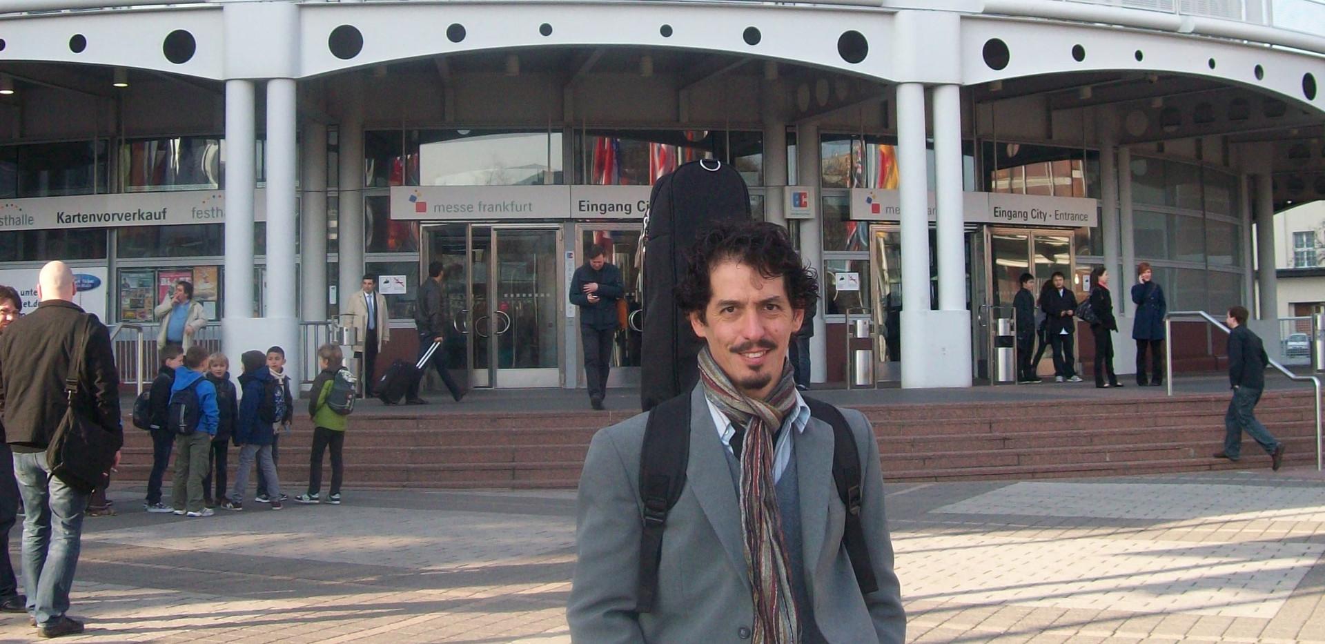 Exposición en Musicmesse Frankfurt - Alemania