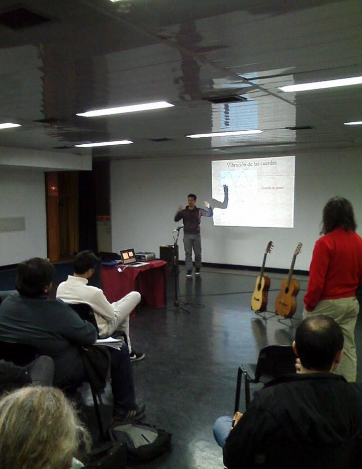 Luthería en Rosario para la Asociación Argentina de Luthiers